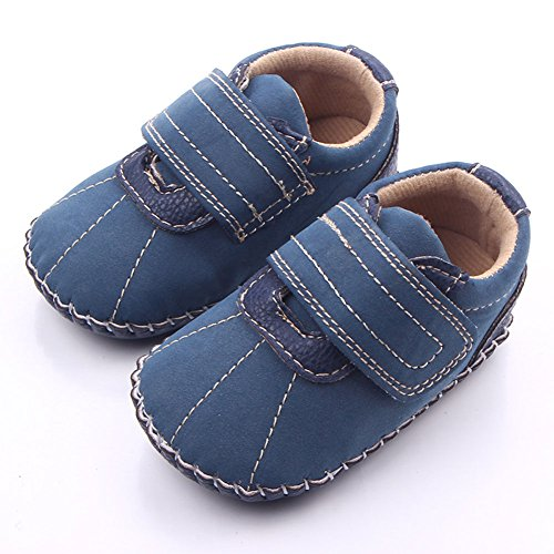 Leap Frog bebé Prewalker Handsome Classic ocio goma suave soled zapatos azul