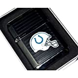 NFL Indianapolis Colts Refillable Butane Torch Lighter with Tin Gift Box - Factory New - 2 1/4 Inch Height