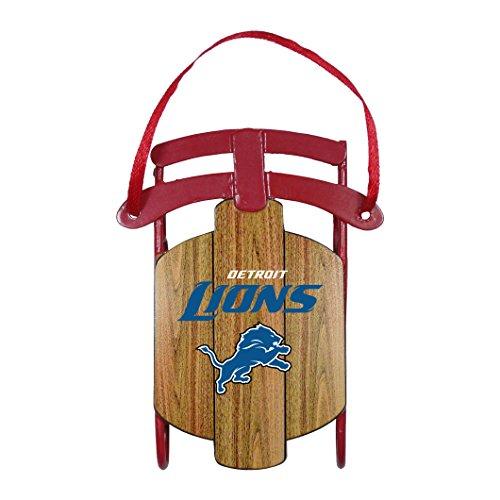 NFL Detroit Lions Sled Ornament