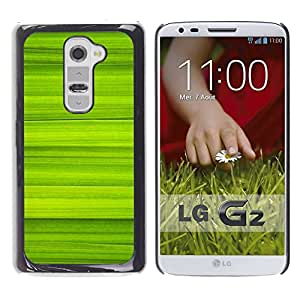 Caucho caso de Shell duro de la cubierta de accesorios de protección BY RAYDREAMMM - LG G2 - Simple Green Pattern 40