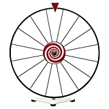 Tabletop Dry Erase Prize Wheel - White Face