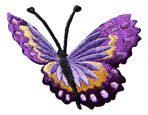 Pretty Golden Butterfly Embroidered Shipping product image