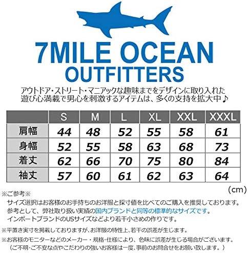 メンズ トレーナー スウェット スエット 大きいサイズ 7MILE OCEAN プリント アメカジ マリファナ ロゴ