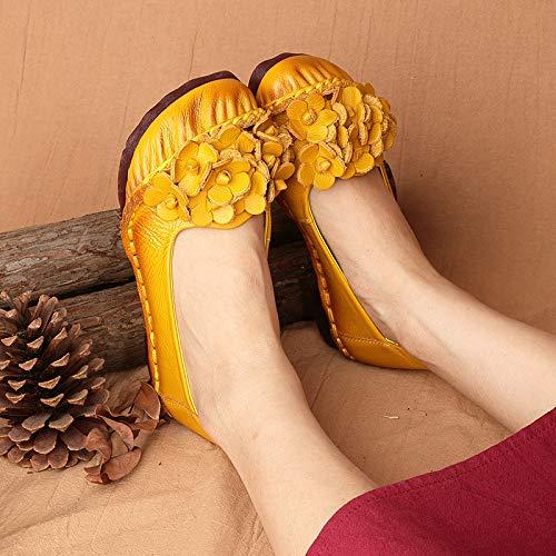 Chaussures Bleu 38 coloré ZHRUI Taille Jaune EU vEZwqdw6n