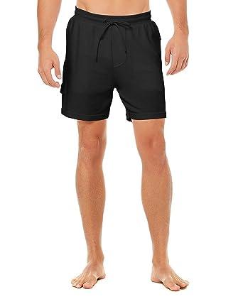 Alo Yoga Pantalones Cortos de Control para Hombre - Negro ...
