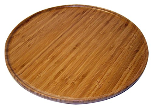 Kitchen Elements Bamboo Lazy Susan Tray
