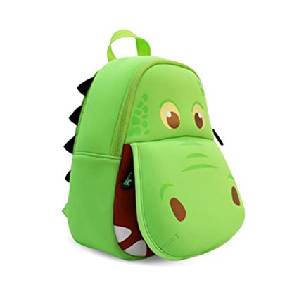 Buy NOHOO Kids Shoulder Bags, 3D Cartoon Animal School Bags Green Hippo for  2-8 Year-Old Children Holidays Gifts Online at Low Prices in India -  Amazon.in 94df0925ca
