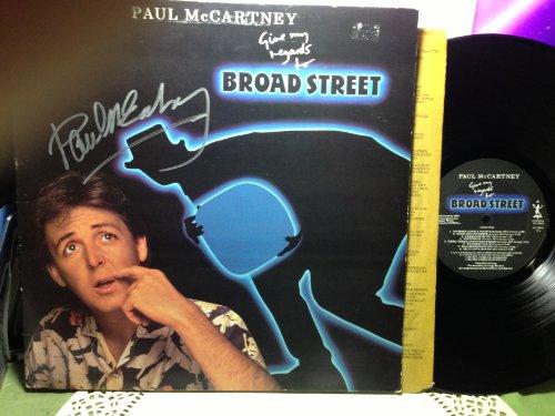 Paul McCartney Signed