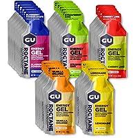 GU Energy Roctane Ultra Endurance Energy Gel, sabores surtidos, 24 conteos