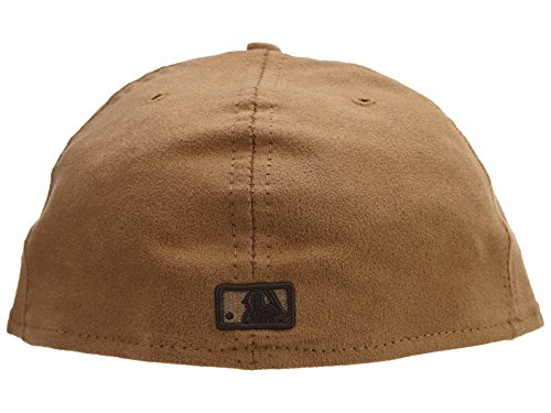 New Era New York Yankees Fitted Hat Mens Style: NYYANKEE-083 Size: 7 7/8 Tan