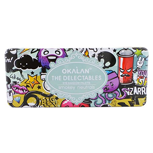 Okalan Delectables Eyeshadow Palette- Cool Shades or Smokey ()