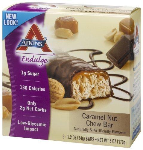 Atkins Endulge Bar Crml Nut Chew  5 1 4 Oz By Atkins