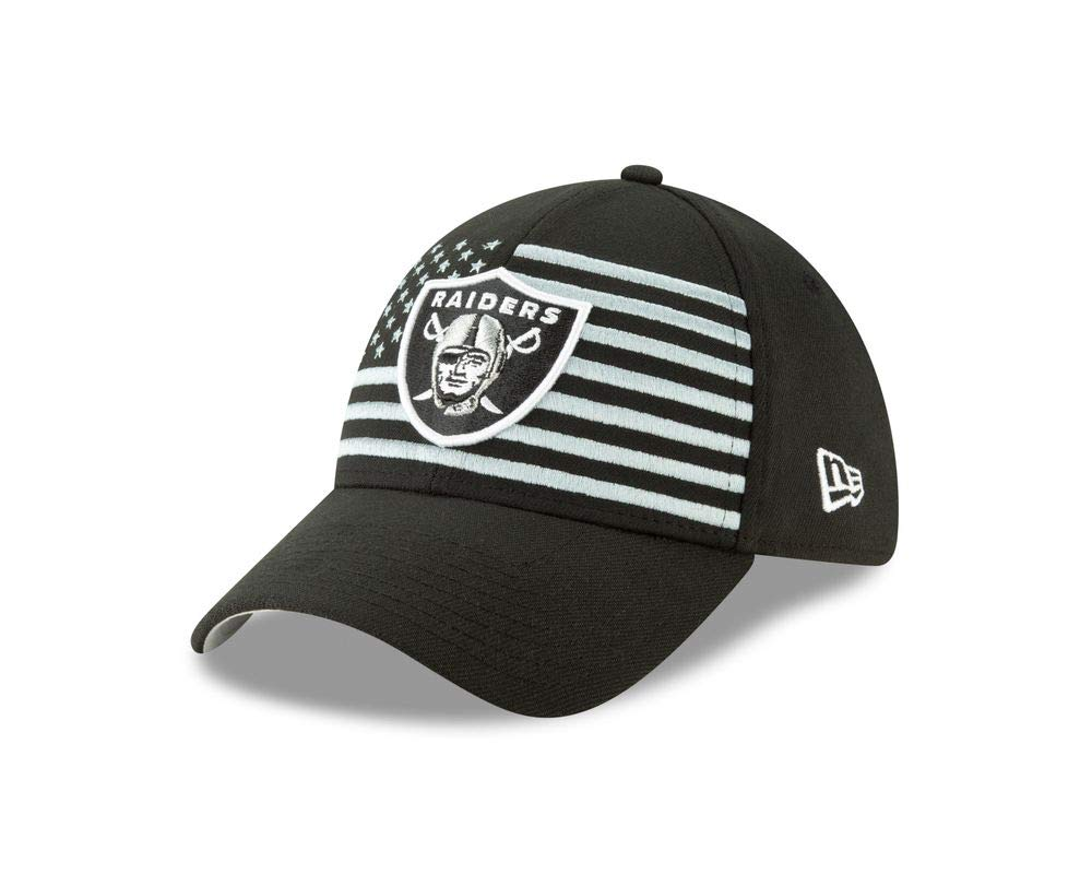 New Era Oakland Raiders 39thirty Stretch Cap Nfl19 Draft
