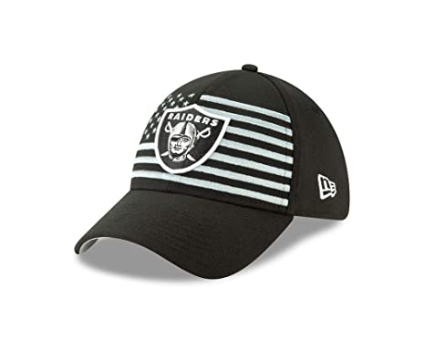 8e1a9a5c9a14fd New Era 2019 39Thirty NFL Oakland Raiders Draft Hat Cap City Flag Detail (S/