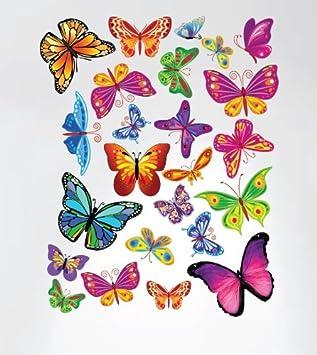 Amazon Com Innovative Stencils 3005 Easy Peel And Stick Colorful