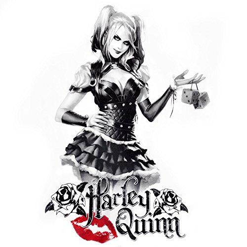 Corte To Bianco Bianco Comics a Quinn da Donna Maniche Time Maglietta Serie Harley Play 7IwvU