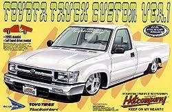 "Aoshima #1 Toyota Truck ""Custom Ver 1"" '95 1/24 w/ Racing Hart wheels from Aoshima"