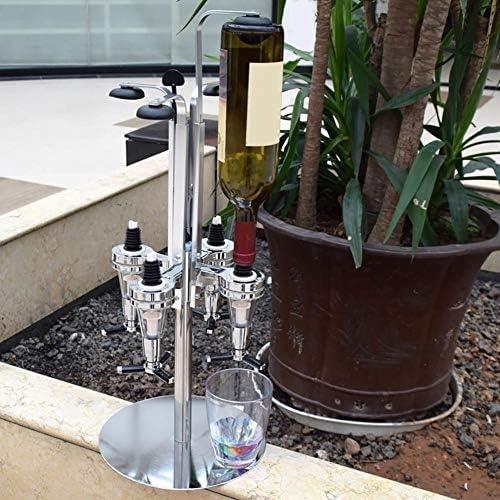 Neue Hohe Qualität Schnaps Spender Gedreht Montiert Schnaps Halter Tragbare Getränke Rotierenden Wein Racks Für Bar Party Trinken