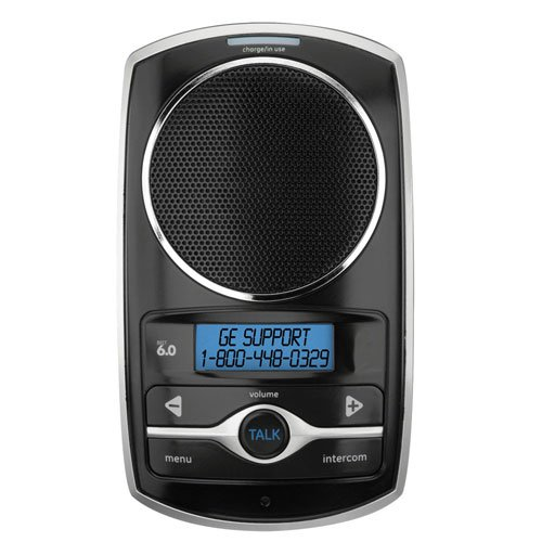 Thomson Dect Telephone - GE 28108FE1 DECT 6.0 2-Way Wireless Speakerphone Intercom Accessory - Black