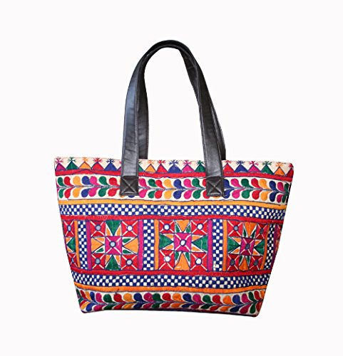 Boho Main Fait Cabas Style Vintage Banjara La Silkroude Indien À Sac Cary Tribal vpU6nIq