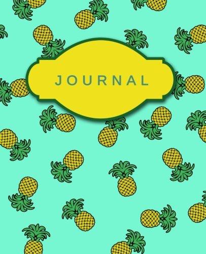 Journal (Aqua Pineapples): Cute Notebook | Journal | Diary ...