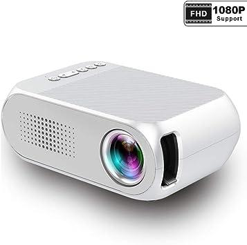 Mini proyector, Portatil Led Projetor Audio HDMI USB Mini ...