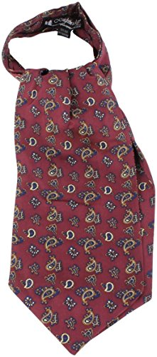 Knightsbridge Neckwear Mens Small Paisley Silk Cravat - ()