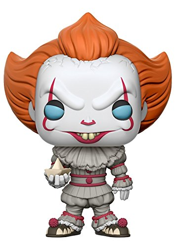 Funko Pop! Movies: It - Pennywise with Boat (Styles May Vary) Collectible Figure ()