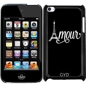Funda para Ipod Touch 4 - Amo París by wamdesign