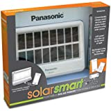Panasonic Panasonic SolarSmart Portable Solar Power for Mobile Devices - Solar Chargers - Retail Packaging - White/Black