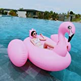 Inflatable Flamingo Pink Flamingo Pool Float Suitable for Adults and Children at the Beach or Family Pool