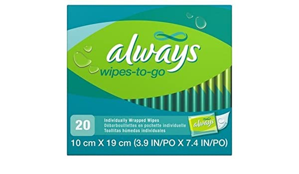 Amazon.com: ALWAYS FEMININE WIPES-TO-GO by PROCTER & GAMBLE CONSUMER: Health & Personal Care