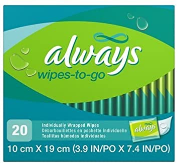 ALWAYS FEMININE WIPES-TO-GO by PROCTER & GAMBLE CONSUMER