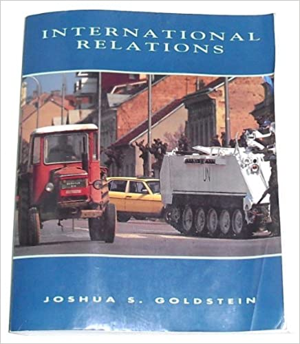 Amazon com: International Relations (9780065018646): Joshua