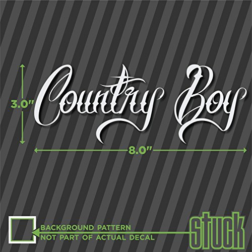 Country Boy Decals For Trucks Amazoncom - Country boy decals for trucks