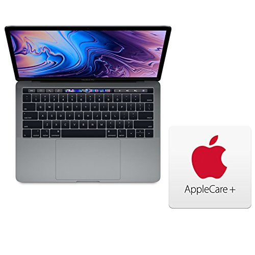 """Price comparison product image Apple MacBook Pro 13"""" Z0V70006E (Alternative for MR9Q2LL/A) with Touch Bar: 2.3GHz Quad-core 8th-Generation Intel Core i5 Processor, 512GB, 16GB - Space Gray (Mid 2018) 3 Year AppleCare+"""