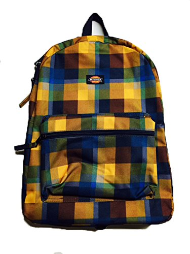 dickies-backpack-student-black-navy-grey-checker-751-brown-fat-plaid