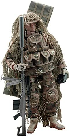 Hellery 1/6 Sniper Special Forces Soldat Für 12 ''Action Figure War Game Spielzeug Set