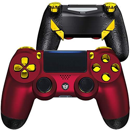 joystick Hexgaming Esports Edge para ps4 pc Scarlet Red