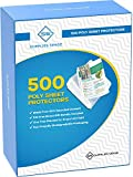 500 Page Protectors 8.5 x 11, Top Loading / 3