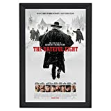 SnapeZo Movie Poster Frame 30x40 Inches, Black 1.7'' Aluminum Profile, Front-Loading Snap Frame, Wall Mounting, Wide Series