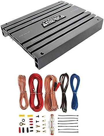 Amazon com: Pyramid PB918 2,000-Watt 2-Channel Bridgeable