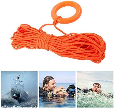 Floating Ring Safety Hook Kayaking Sailing Equip 30m Water   Line Rope