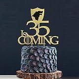 50, 45, 40, 35, 30, 21, 20 is Coming Cake Topper, GOT Cake Topper, GOT Birthday Cake, Winter is Coming, GOT Party Toppers, GOT Fans
