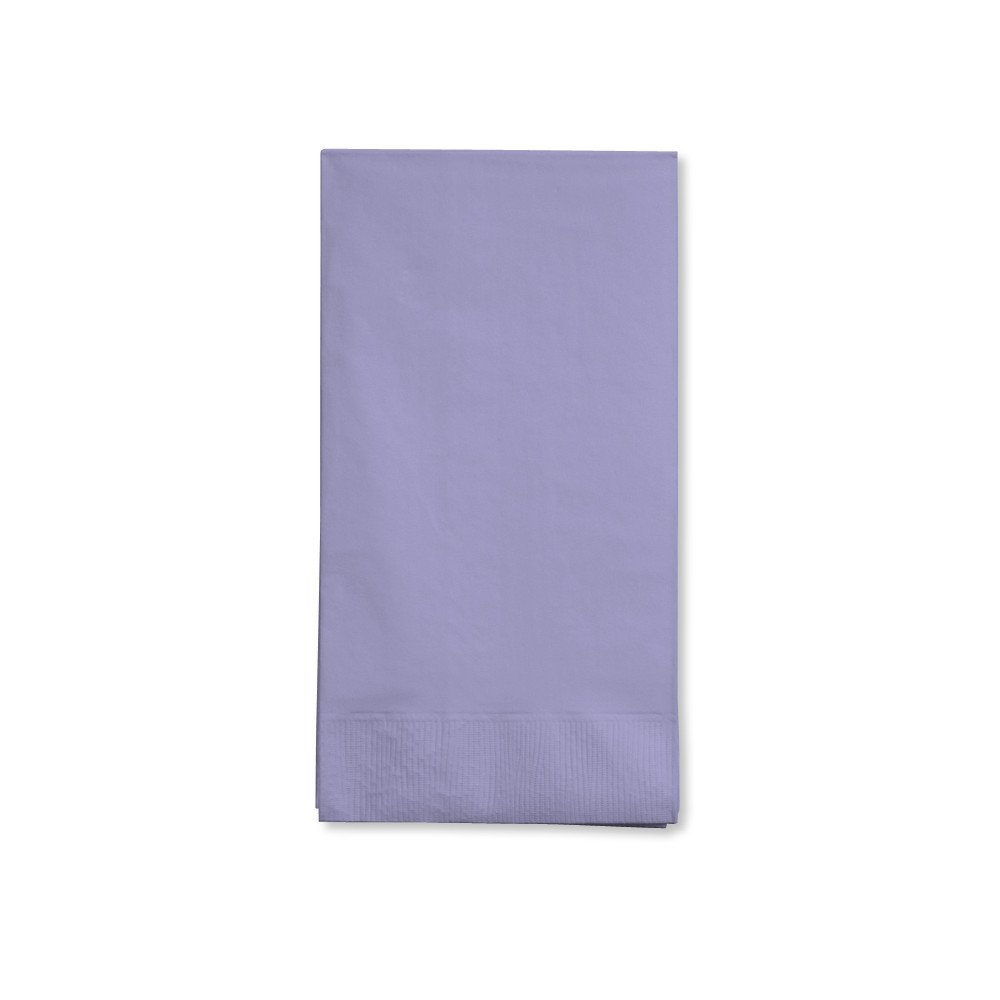 16-Count Touch of Color 3-Ply Paper Guest Napkins, Luscious Lavender