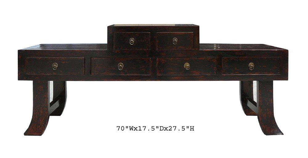 Amazon.com: Chinese Ming Style Prayer Altar Table TV Stand AWK1831: Kitchen  U0026 Dining