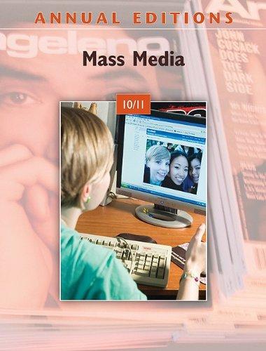Annual Editions: Mass Media 10/11