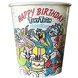 Tiny Toon Adventures Vintage 1992 Happy Birthday 7oz Paper Cups (8ct)