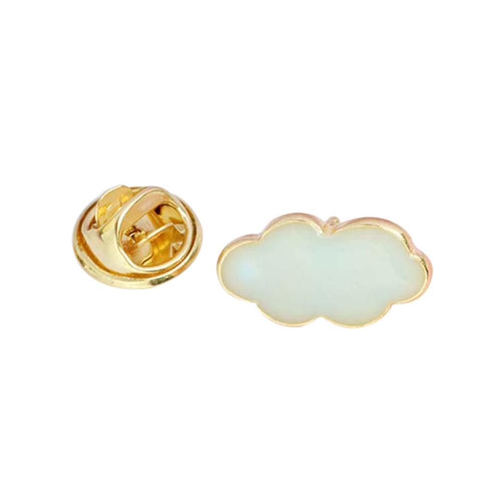 MJARTORIA Carton Brooch Bijoux Broche Badge Style Nouveaux Bijoux pour Dé cor Vê tement en Forme de Nuage XIEHOU