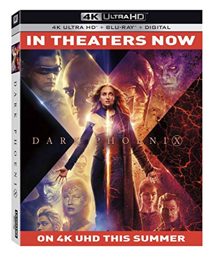 X-Men Dark Phoenix (Bilingual) [4K UHD + Digital Copy] [Blu-ray]